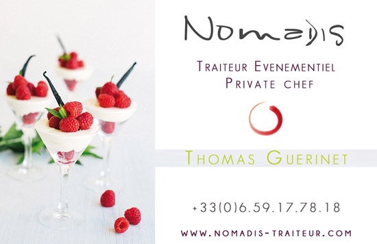 Nomadis wedding caterer france contact