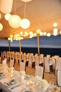 beach side wedding france
